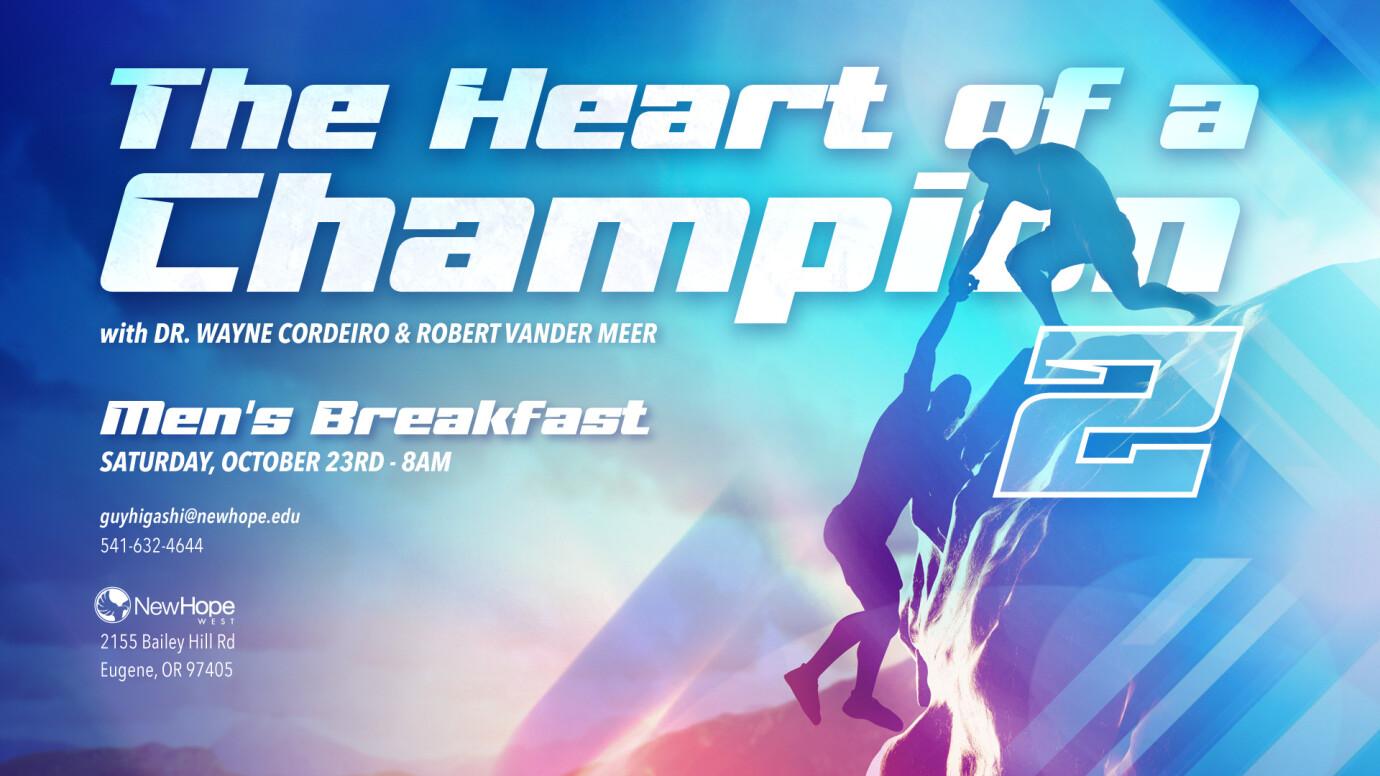 Heart of A Champion II Men's Breakfast